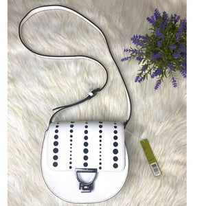 Gianni Bini White Crossbody Bag